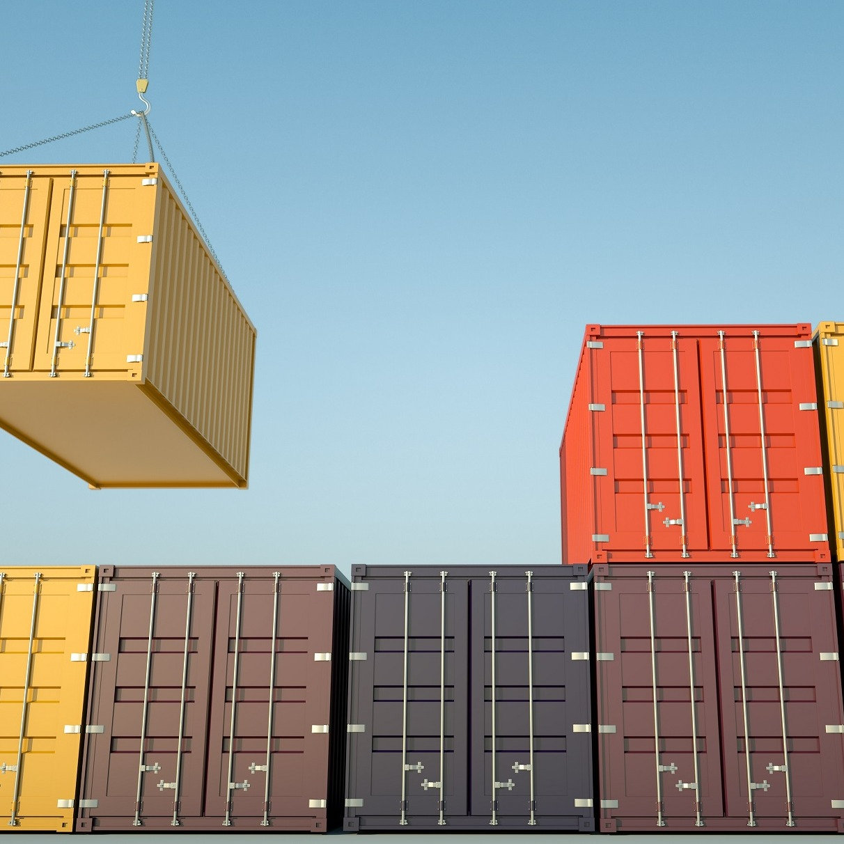 Seeking novel proposals for automated inspection of shipping containers at container depots