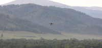 High-precision environmental monitoring UAV-mobile system