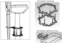 Innovative mechanism for integral cleaning and maintenance of wind turbines
