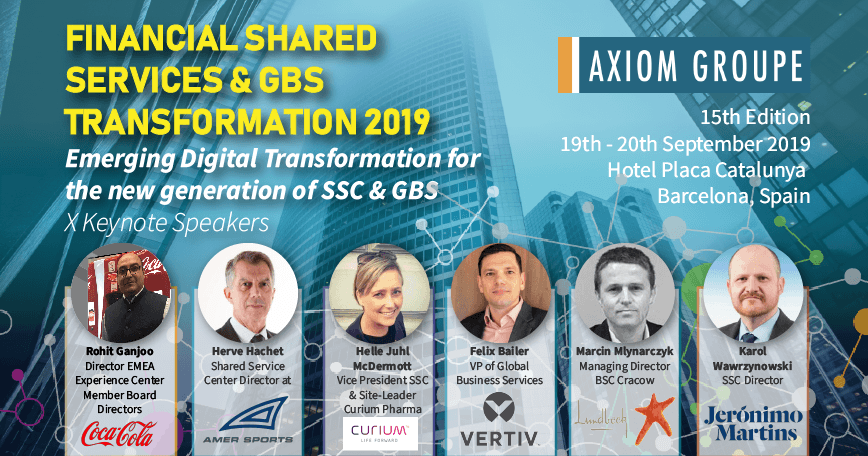 Financial Shared Services & GBS Transformation 2019